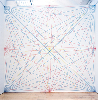 Sol Lewitt - Wall Painting 1975
